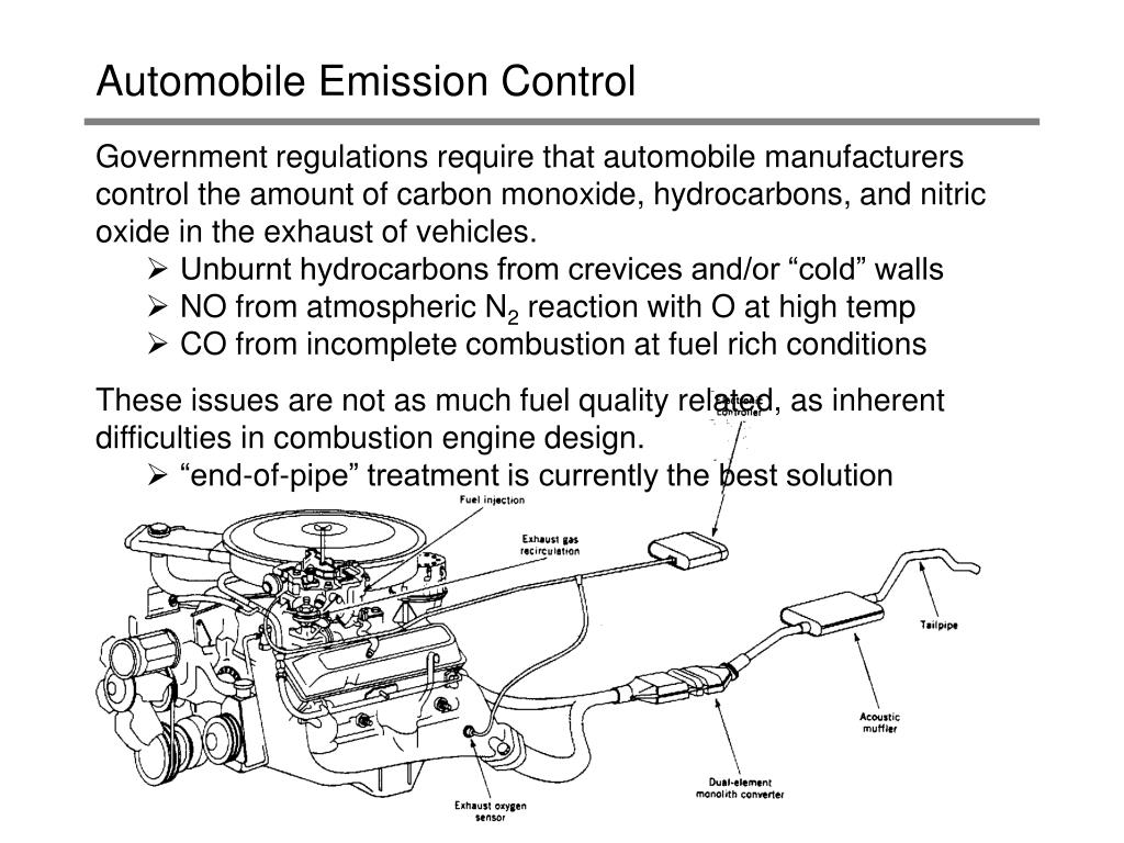 automobile emission control l.