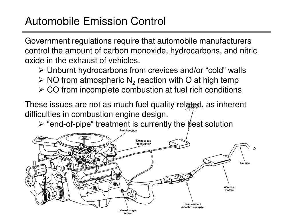 automobile emission control l.