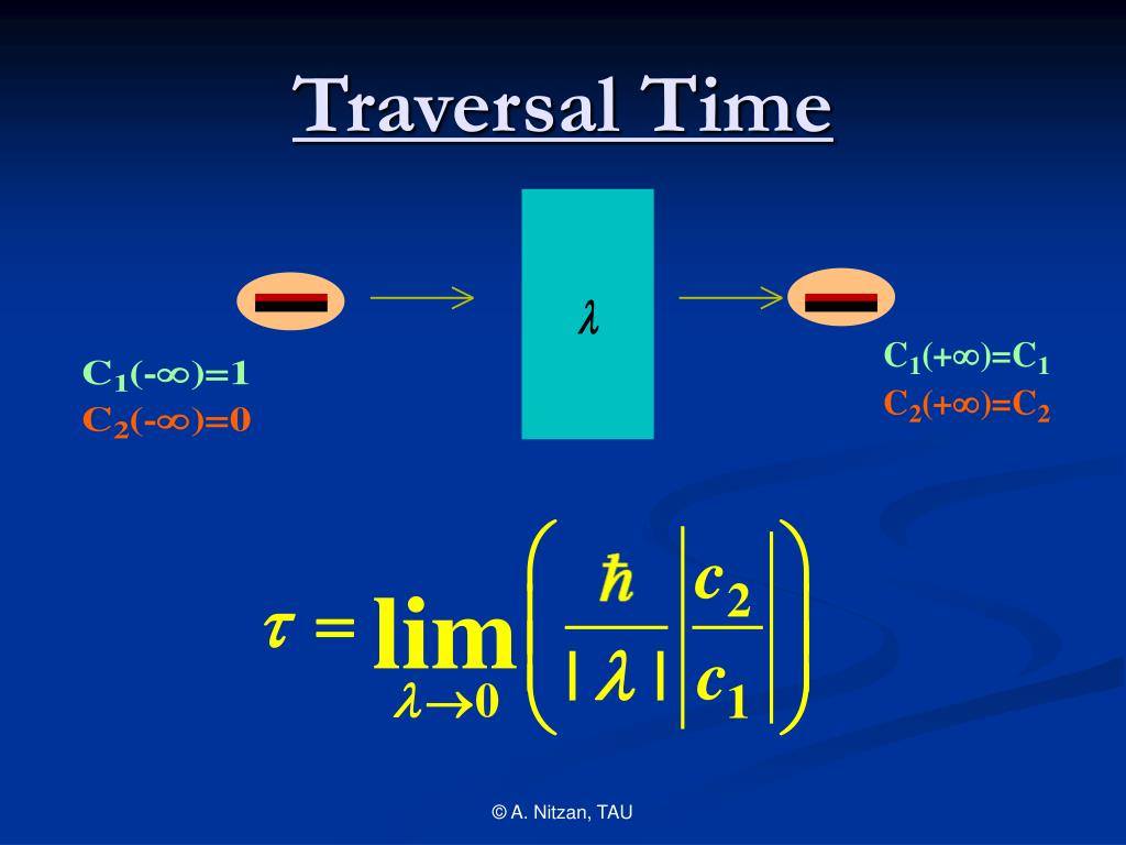 Traversal Time