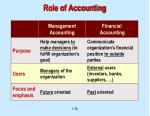 role of accounting16
