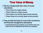 time value of money29