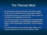the thermal wind