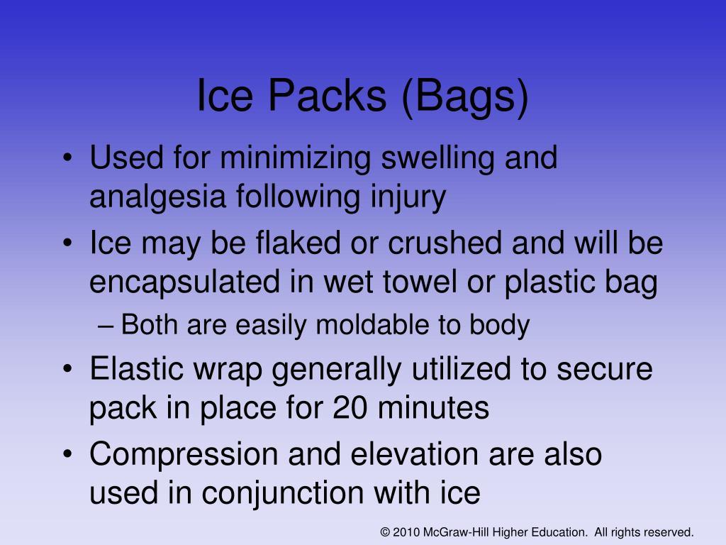 Ice Packs (Bags)