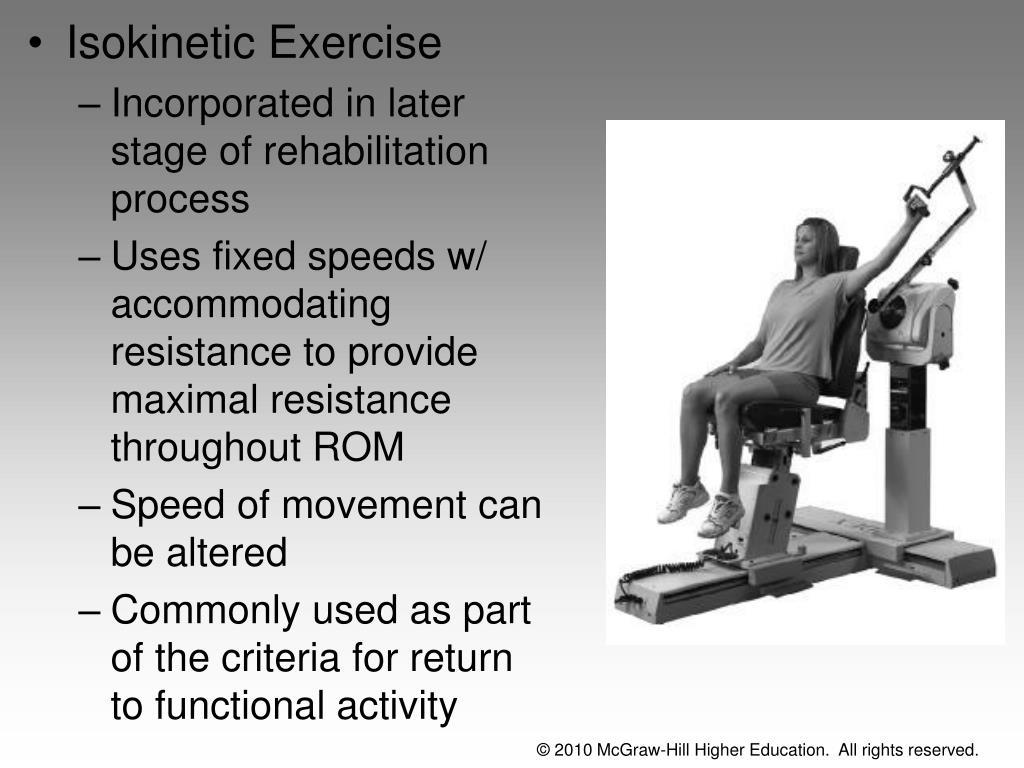 Isokinetic Exercise