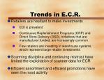 trends in e c r