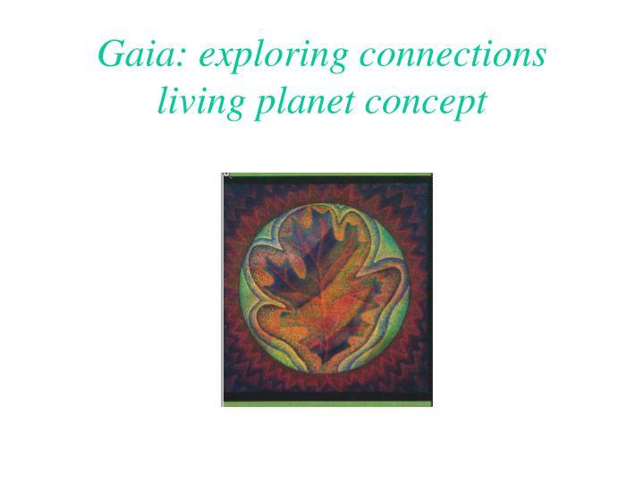 Gaia: exploring connections