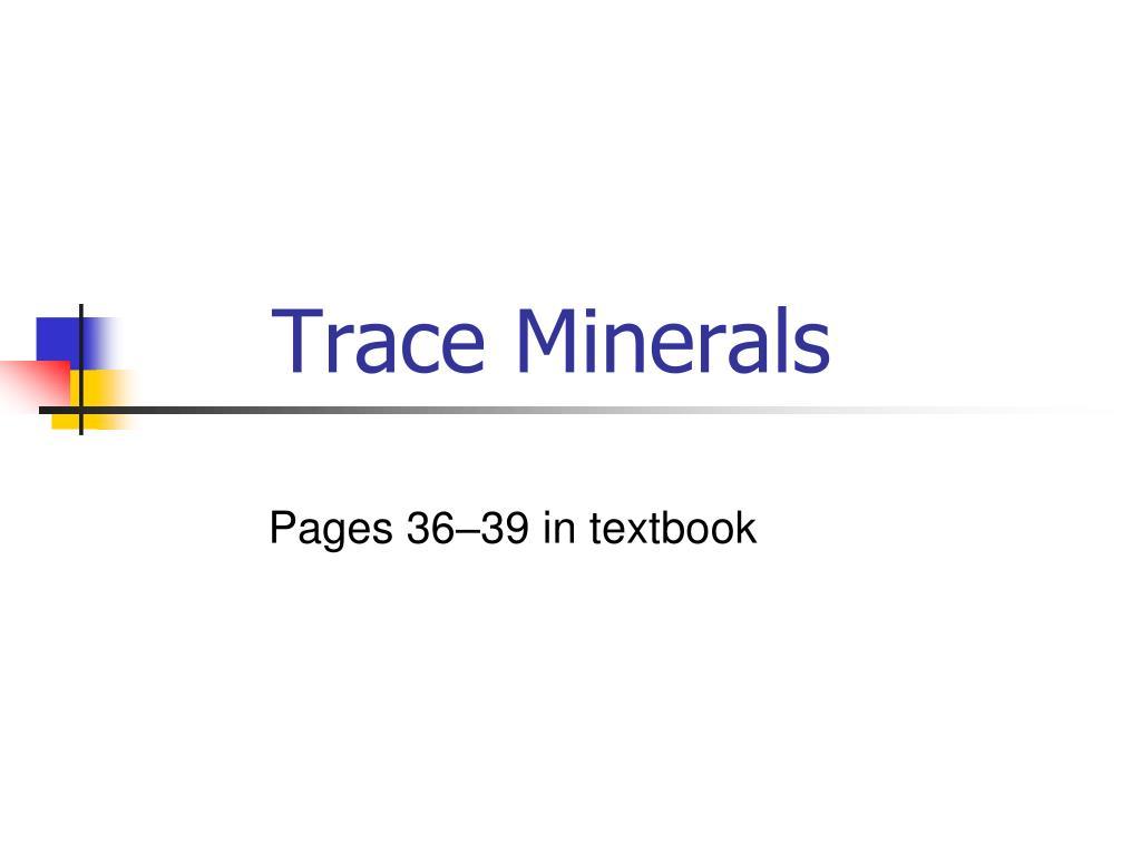 trace minerals l.