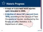 historic progress