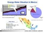 energy water situation in mexico