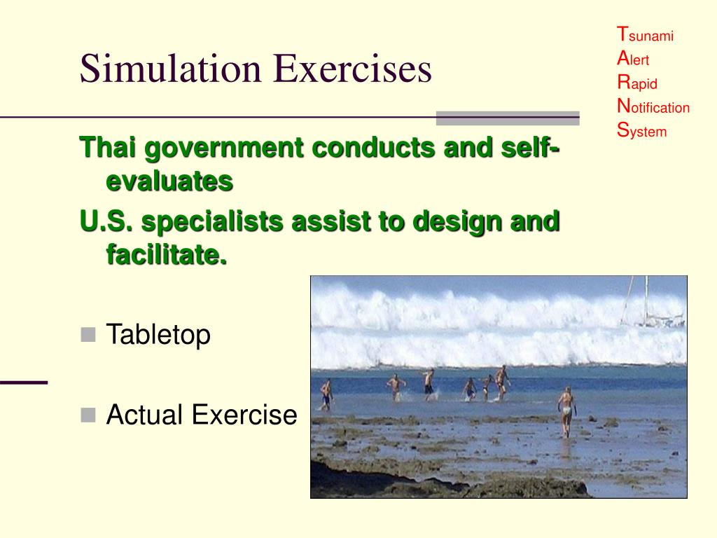 Simulation Exercises