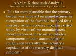aam v kirkpatrick analysis no violation of due process and equal protection44