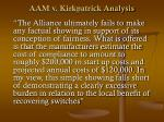 aam v kirkpatrick analysis42