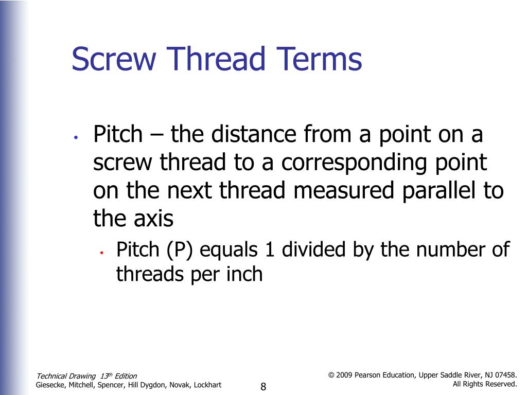PPT - Threads, Fasteners, and Springs PowerPoint Presentation - ID