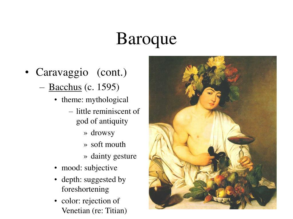 Caravaggio   (cont.)