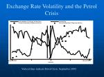 exchange rate volatility and the petrol crisis