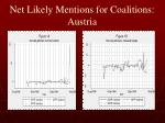 net likely mentions for coalitions austria