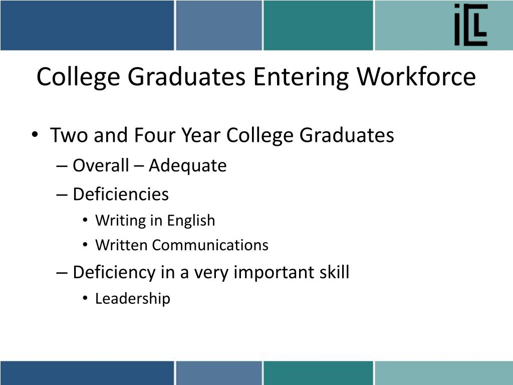 College Graduates Entering Workforce