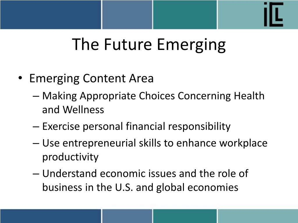 The Future Emerging