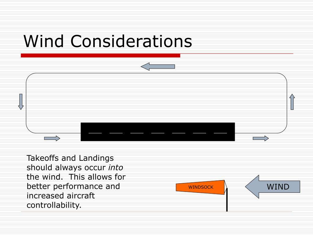 Wind Considerations