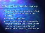 politics and the english language43
