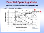 potential operating modes