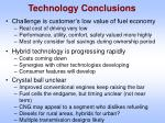 technology conclusions