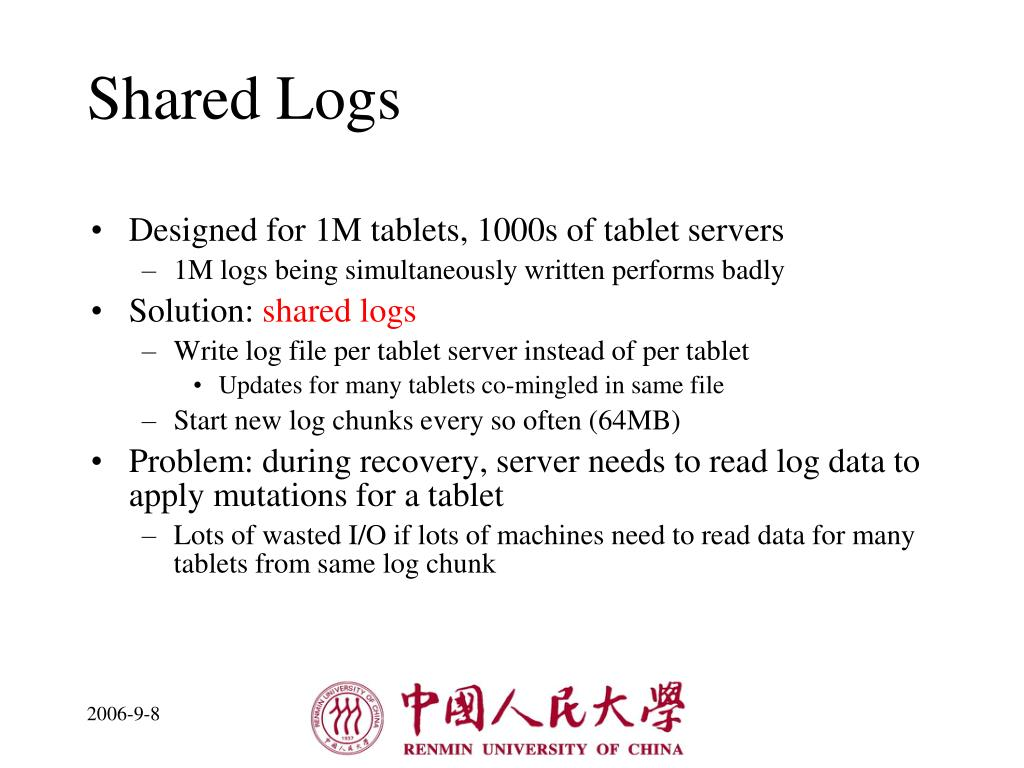 Shared Logs