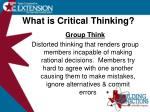 what is critical thinking5