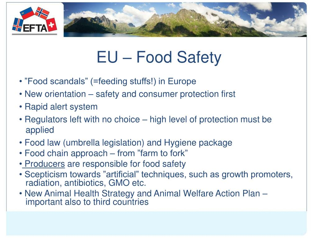 EU – Food Safety