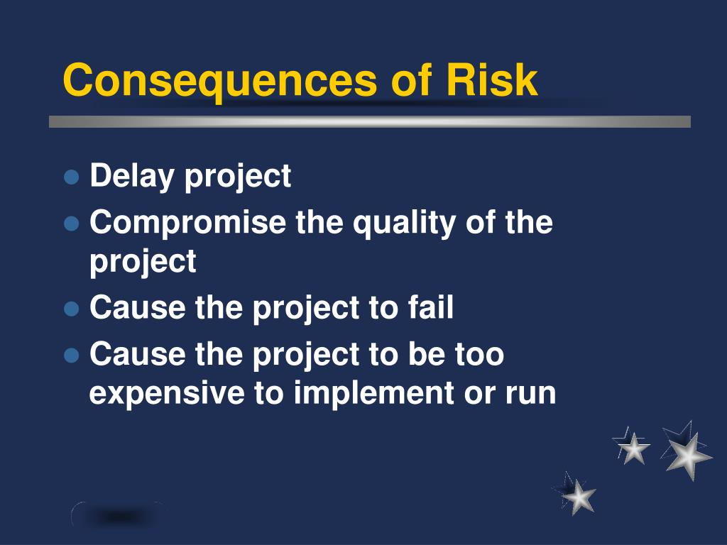 Consequences of Risk