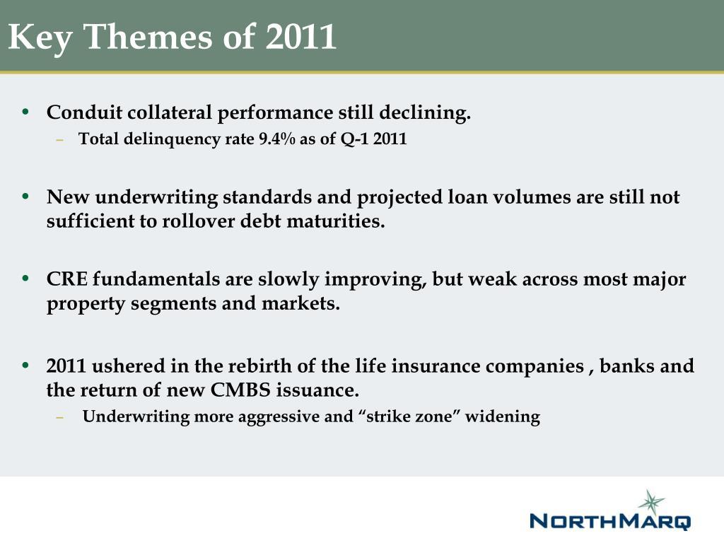 Key Themes of 2011