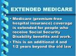 extended medicare