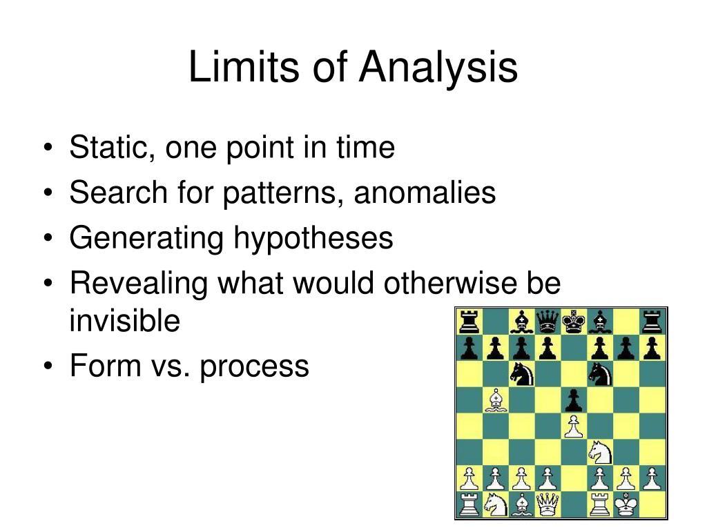 Limits of Analysis