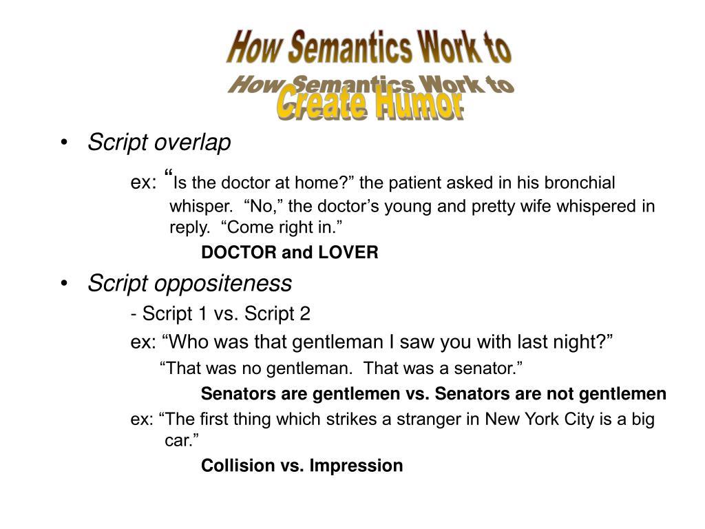 Script overlap