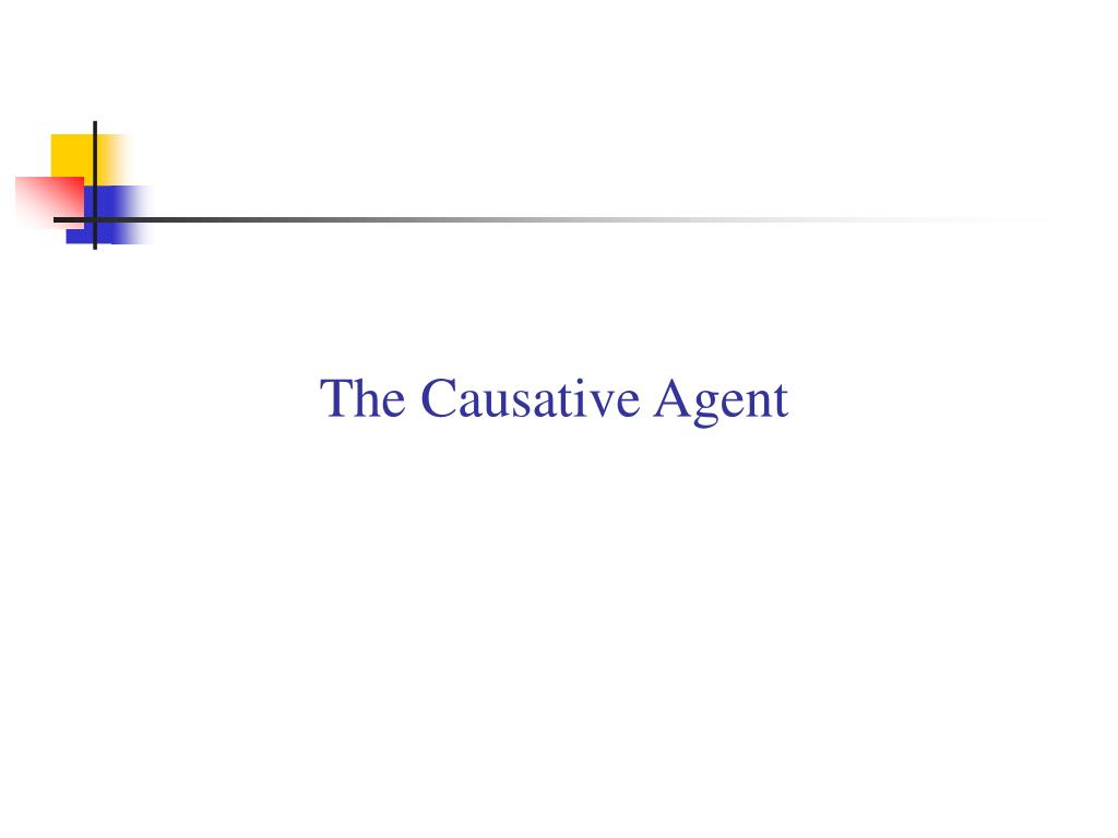 The Causative Agent