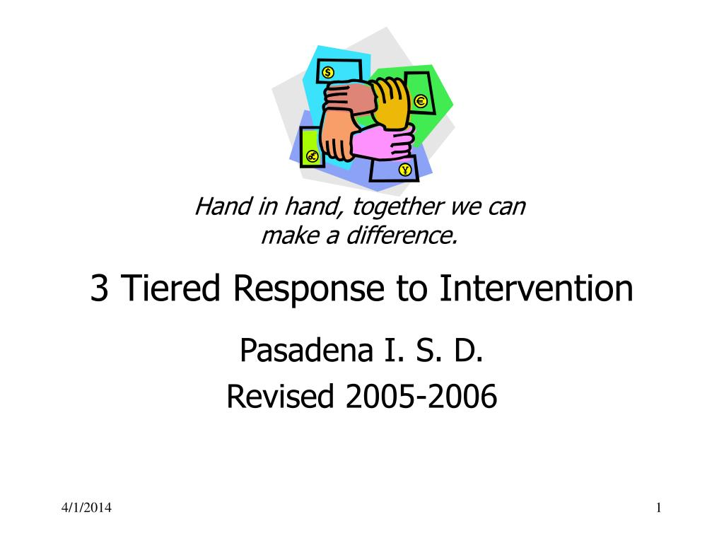3 tiered response to intervention