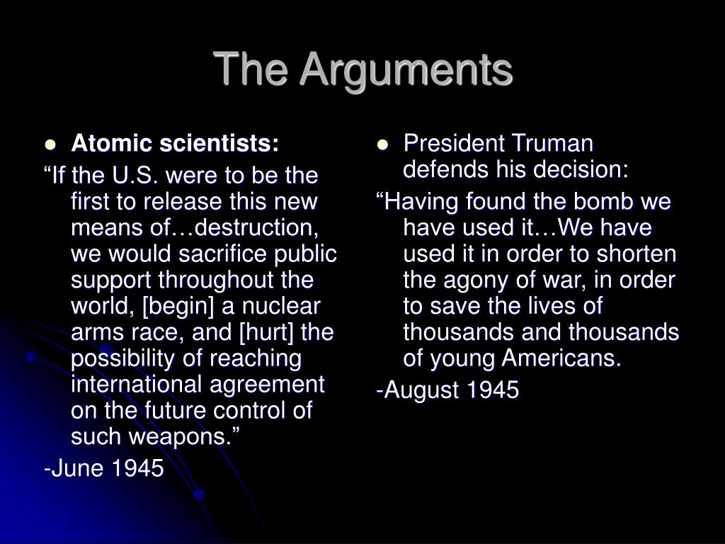 Atomic scientists: