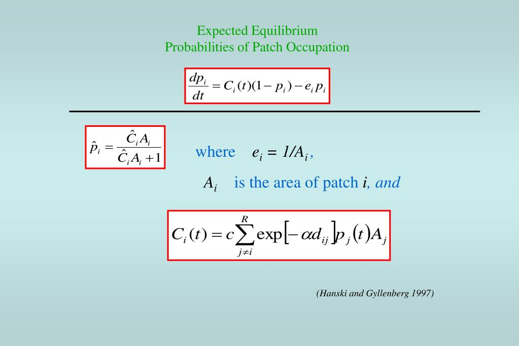 Expected Equilibrium