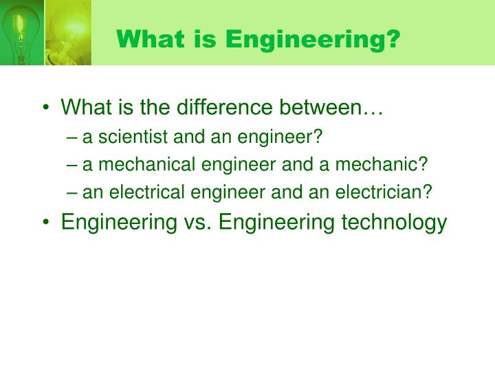What is engineering3