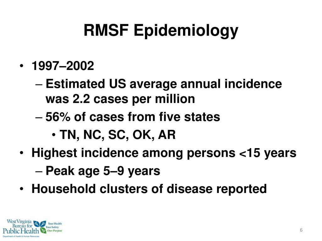 RMSF Epidemiology