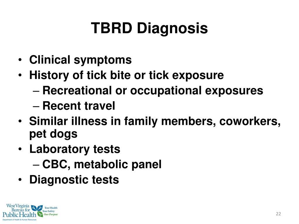 TBRD Diagnosis