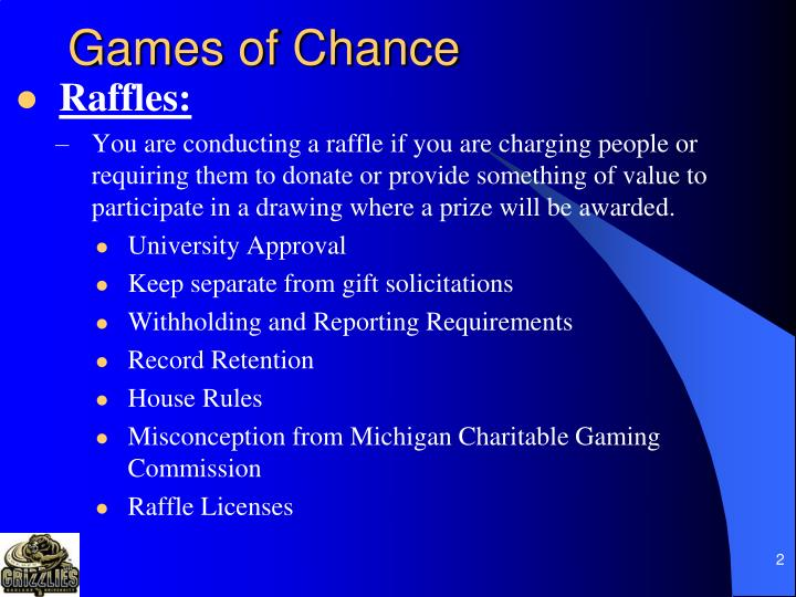 Games of chance2