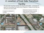 2 location of east side transition facility