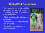 global pull curriculum