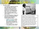 de constructing tbdf 2a