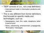 de constructing tbdf 3