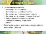 de constructing tbdf 4