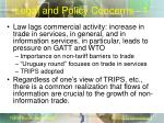 legal and policy concerns 1