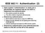 ieee 802 11 authentication 2