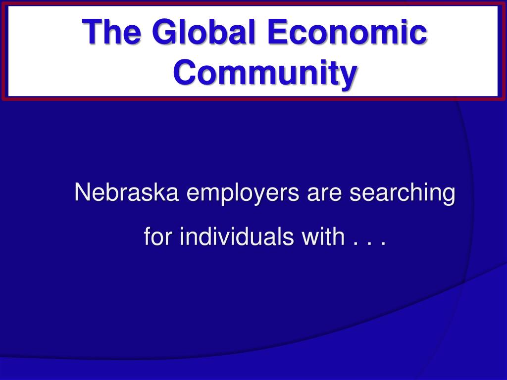 Nebraska employers are searching for individuals with . . .